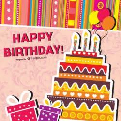 birthday cards vector vector free