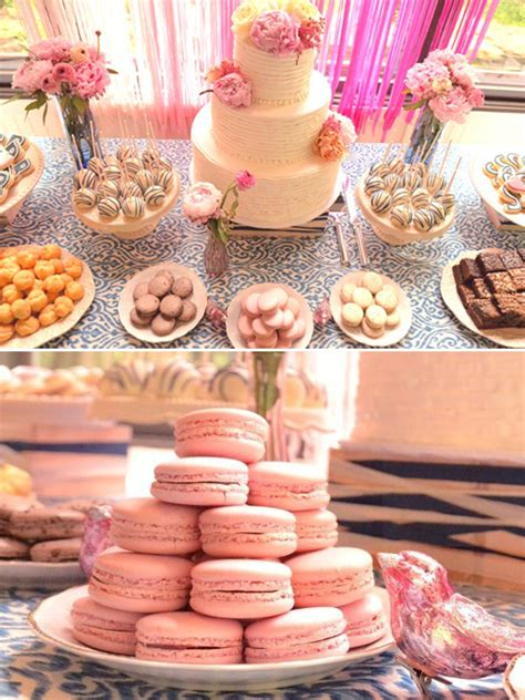 Easy Dessert Table Ideas From A Charming F 234 Te