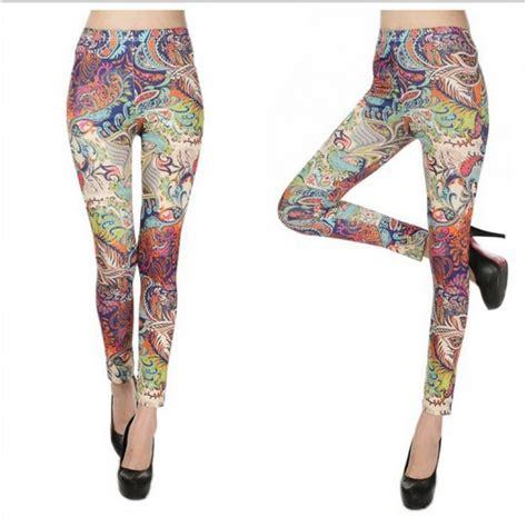 paisley pattern yoga pants colorful paisley women s leggings yoga workout capri pants
