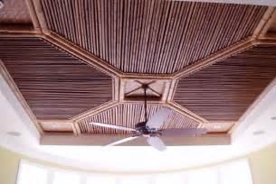 bamboo tropical ceilings