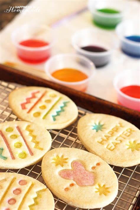 gluten free vanilla bean sugar cookies happiness is