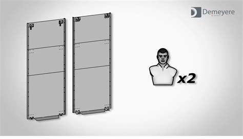 pose porte de coulissante pose de portes coulissantes