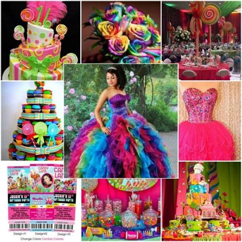 quinceanera neon themes plan a fun festive carnival themed quince quinceanera