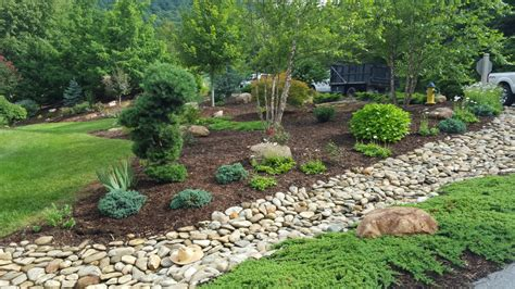 rock garden bed rock garden bed ideas