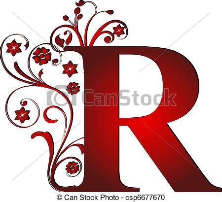 R Drawing Images by Banco De Imagens De R Letra Vermelho Capital Capital