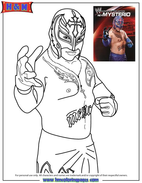 wwe coloring pages of undertaker