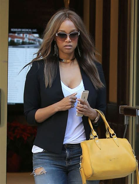 tyra banks tyra banks latest photos celebmafia
