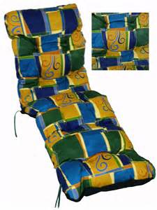 Thick Padded Sun Lounger Cushions Replacement Outdoor Garden Sun Lounger Cushion Thick