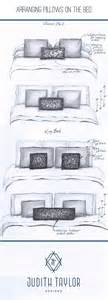 bed pillow arrangement ideas arrangement and sizing for pillows on and king bed