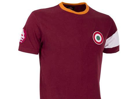 As Roma T Shirt copa as roma captain t shirt giallorossi retro