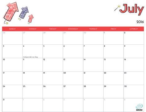 printable calendar 2016 imom 2016 printable calendar for kids imom