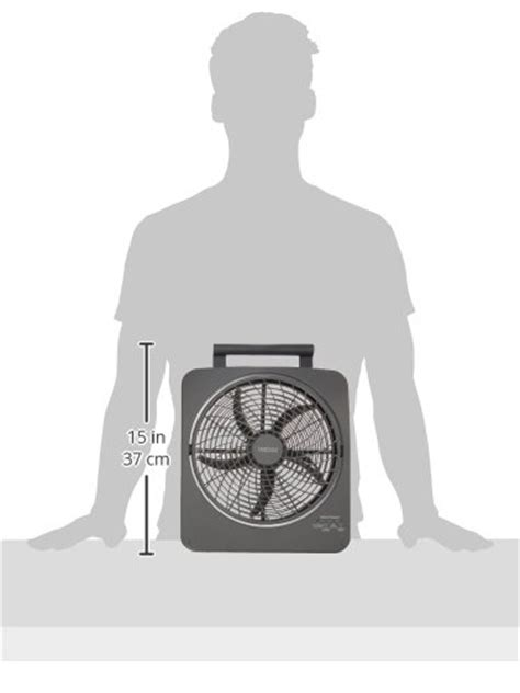 o2cool 10 inch portable fan o2cool 10 inch portable smart power fan with ac adapter