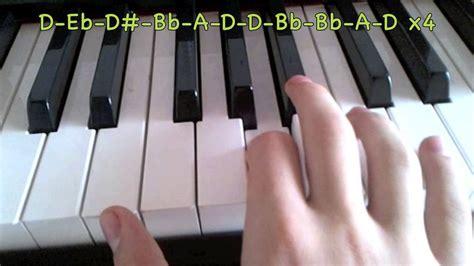tutorial piano zombie how to play blackops 2 main menu theme song on piano youtube