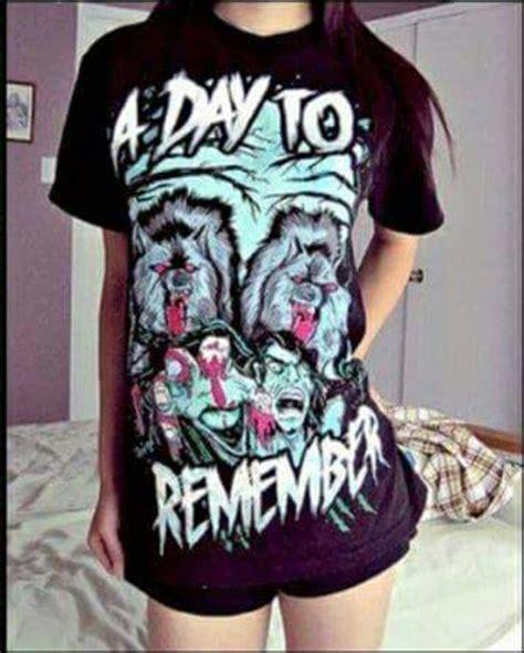 Kaos Band A Day Remember Tshirt Musik A Day 03 t shirt a day to remember band t shirt band merch