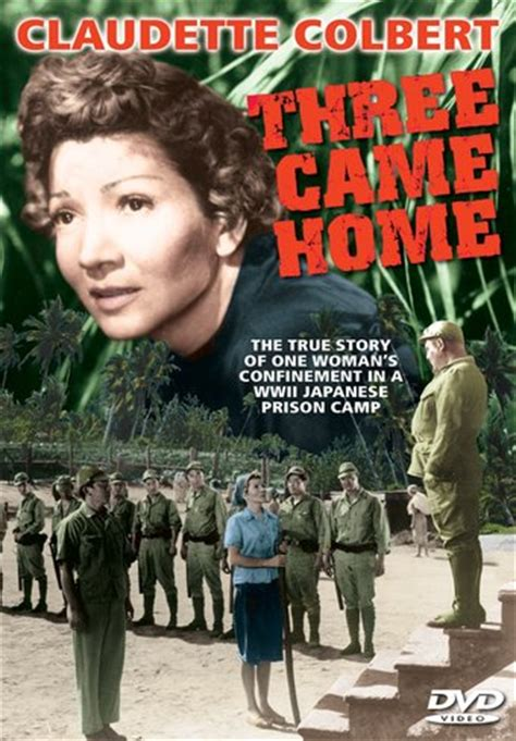 three came home dvd r 1950 starring claudette colbert