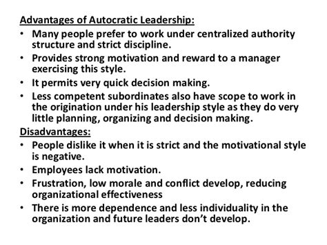 advantages disadvantages of people oriented leadership styles current theories and models of leadership