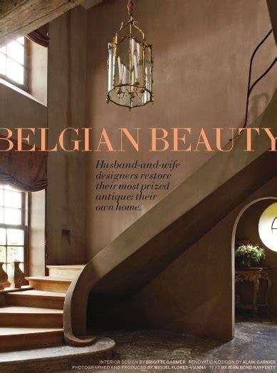 belgian design us interior designs alain and brigitte garnier belgian