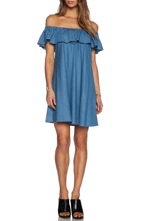 Miselid Dress Blue Dress Import 1 ag honey chambray dress from canada by era style