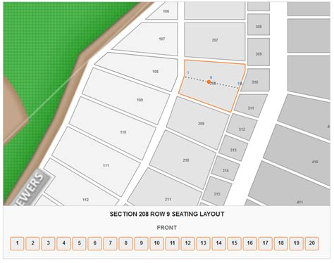 miller park seating chart with rows brokeasshome