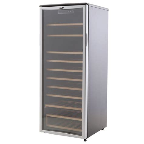 danby 24 in 75 bottle wine cooler dwc106a1bpdd the home