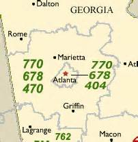 atlanta area code map area codes for atlanta call atlanta