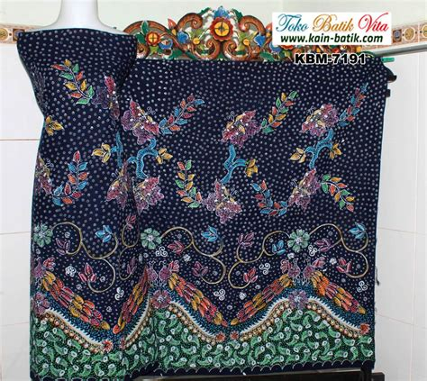 Pancawarna Cerah batik tulis madura flora fauna burung warna cerah kbm 7191