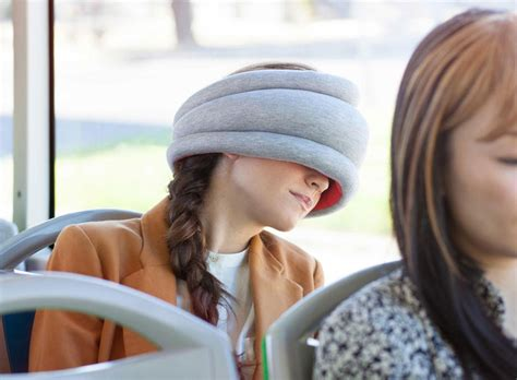 Ostrich Sleeping Pillow by Ostrich Pillow Light Is A Portable Pillow For Napping