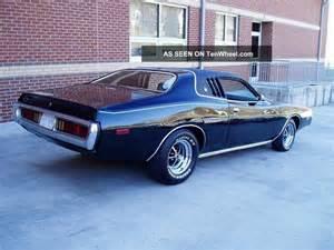 1973 Dodge Charger Se 1973 Dodge Charger Se 400 Cid V8 Auto S Match