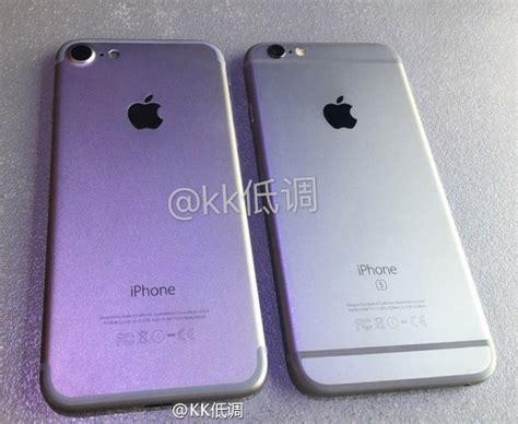 nieuwe toont vermoedelijke iphone 7 naast iphone 6s