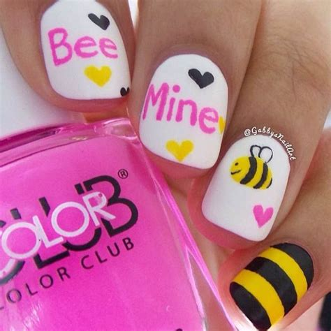 cute valentines day nail art designs valentines day