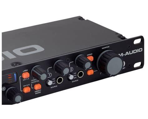 scheda audio 8 ingressi m audio m track eight scheda audio interfaccia midi usb 8