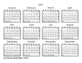 2016 yearly calendar one page calendar