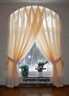 Half Circle Window Curtains Arched Window Curtains On Pinterest Arched Window Treatments Arched Window Coverings And Bow