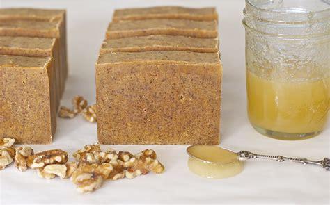 Handmade Recipe - honey walnut milk soap
