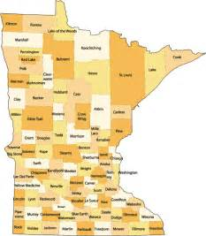 What County Is Mn In Maps Minnesota County Map