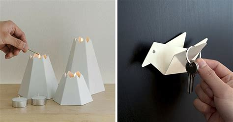 origami inspired  design   small home decor