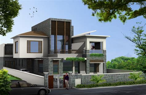 exterior house design brilliant idea of exterior house design with natural stone also white paint wall