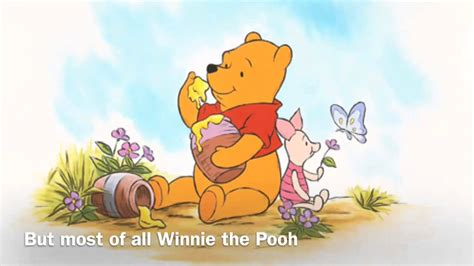 theme chrome pooh プーさんの曲 英語歌詞 winnie the pooh theme song with english