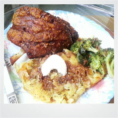 Oven Hock No 2 No 3 By Happy Oxone 20 min oktoberfest feast swiss rosti and german pork