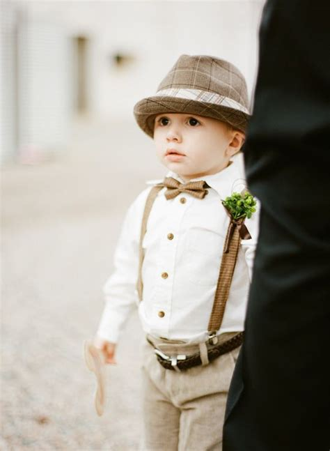 5 of the sweetest vintage ring bearer looks chic vintage