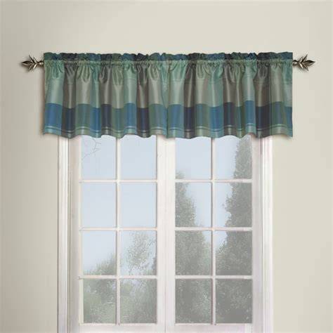plaid valance curtains united curtain plaid valance window treatments