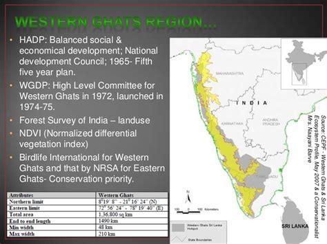 eastern and western ghats western ghats region