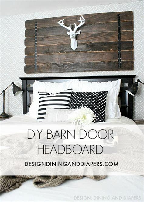 diy barn door headboard decor charm decor charm