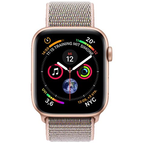 Apple Series 4 200 by Apple Series 4 40mm Smartwatch 130 200 Mm Armband Sandrosa Geh Ebay