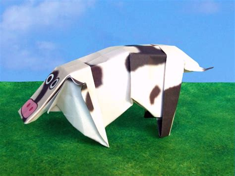 How To Make An Origami Cow - joost langeveld origami page