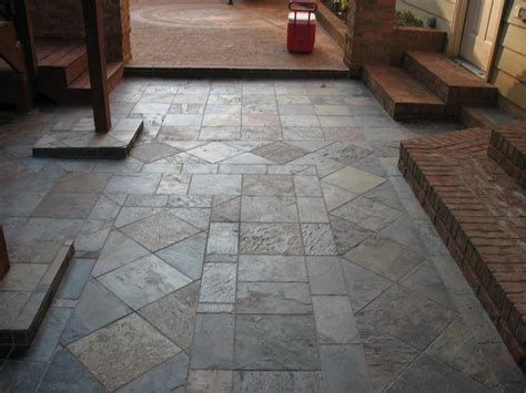 patio slate custom brick and slate patios from jackpot construction