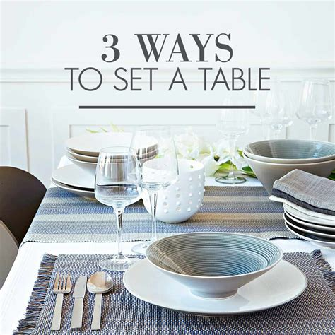 how to set table 3 ways to set a table woolworths co za
