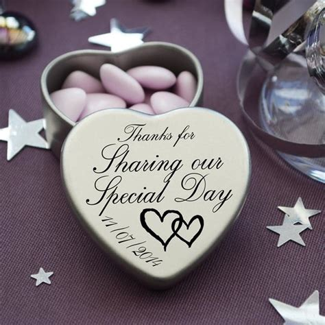 wedding gifts for guests luxury personalised wedding gifts for guests keepsake and