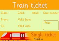 printable play tickets editable rail tickets i changed the size added our school
