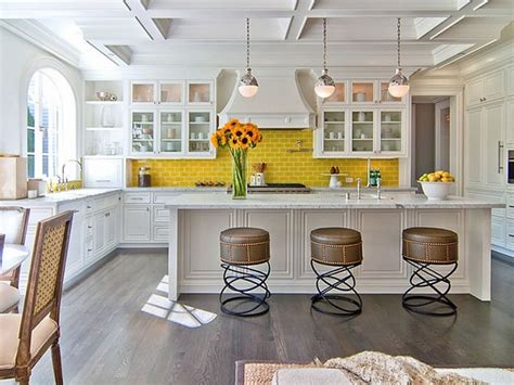 backsplash for yellow kitchen 105 interior design ideas for the kitchen in different styles